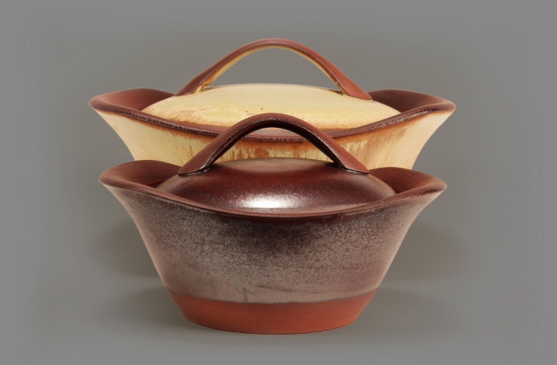 Ceramics. Robbie Lobell. Kitchen to Table Pots