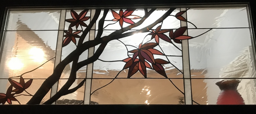 stained glass window from This Old House