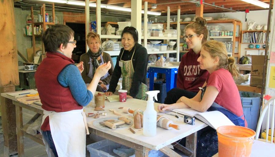 tiffany hilton, clay workshop, ceramics