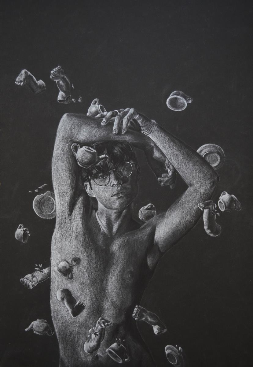 scholastic art award, gold key, silver key, drawing, connecticut