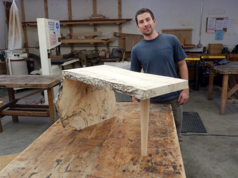 live edge table, popular woodworking