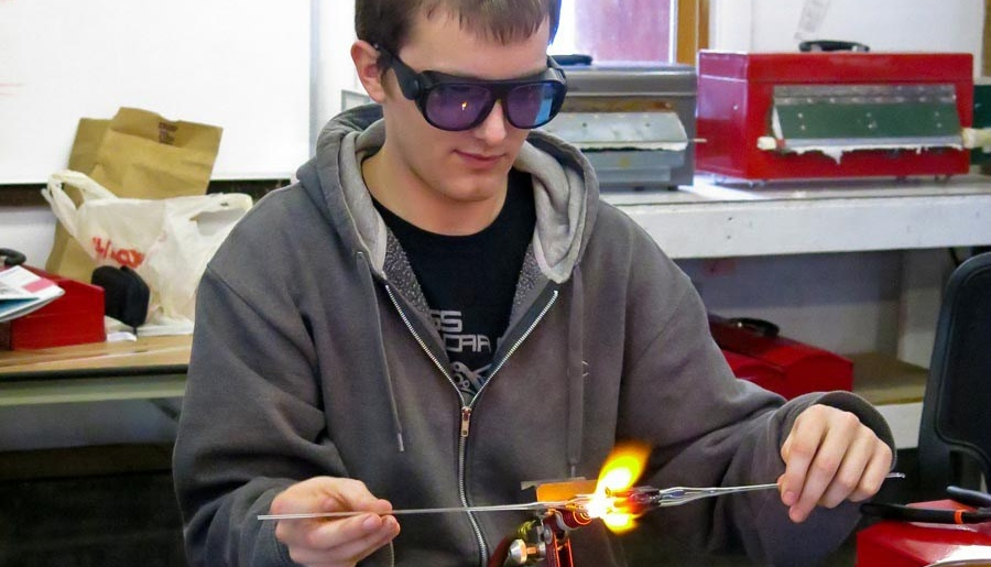 flameworking, craftsmanship quarterly, craft schools