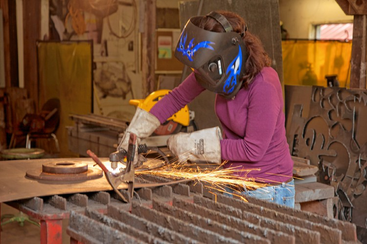 welding workshops in western mass, trish crapo, learn welding