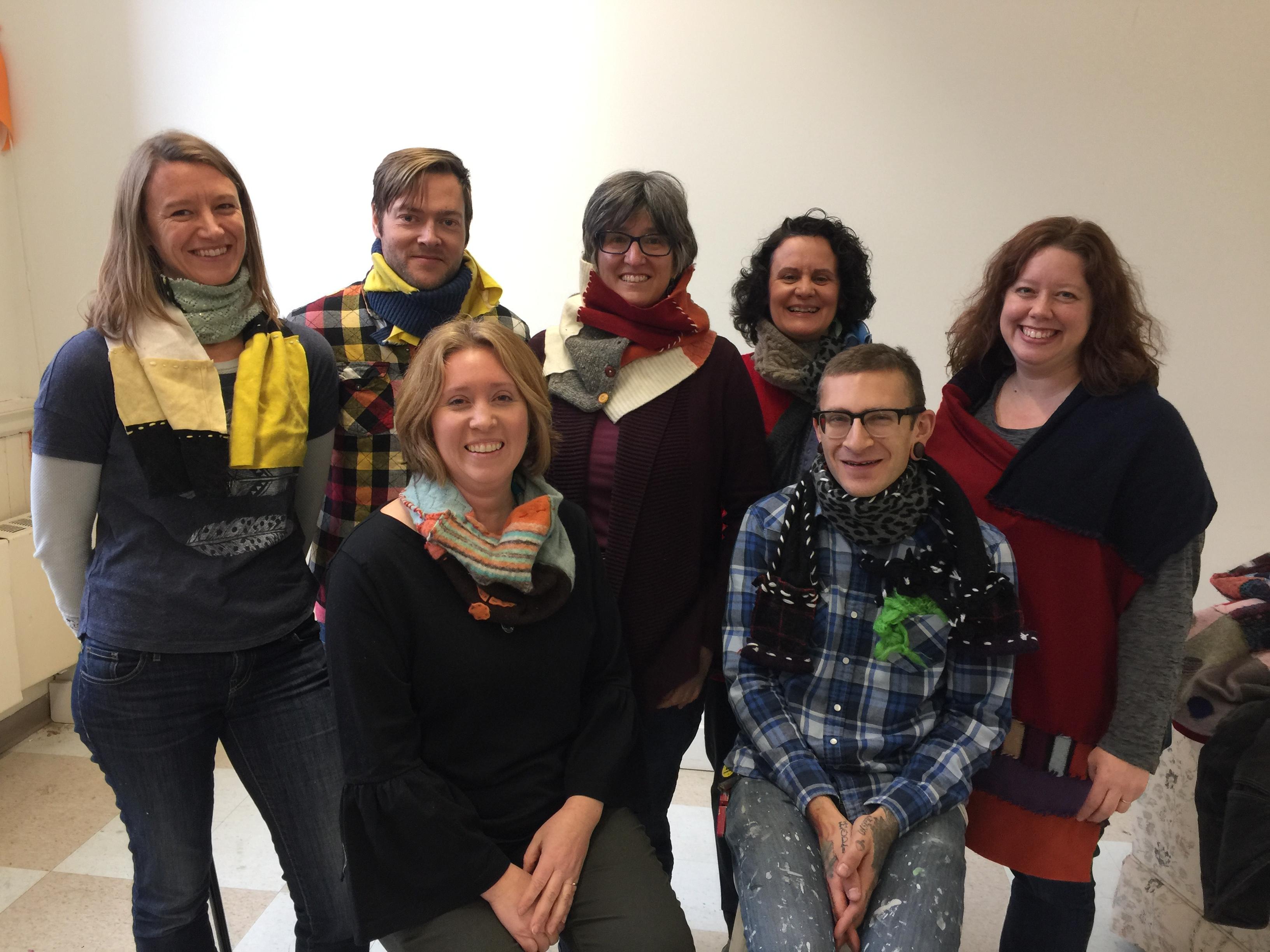 handmade, craft school experience, snow farm staff, crispina ffrench