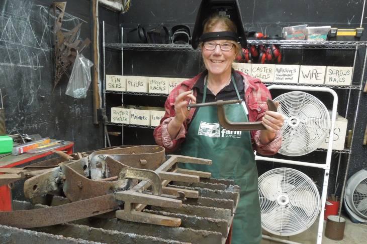 welding workshops, women and welding