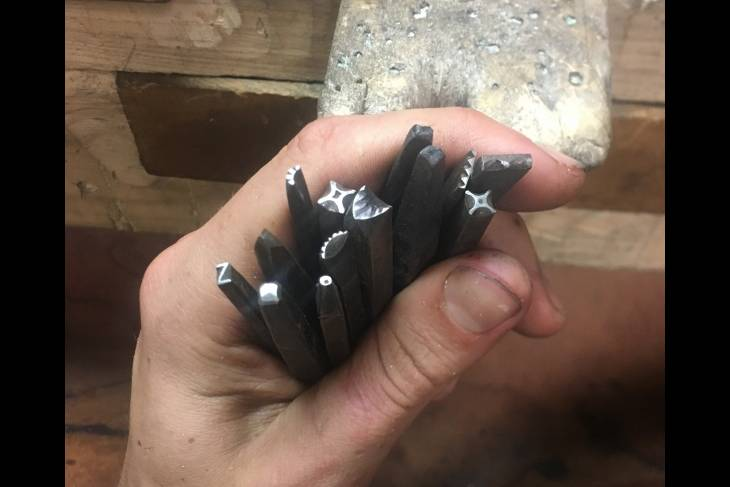 Nicholas Downing, Make Your Own Steel Stamps