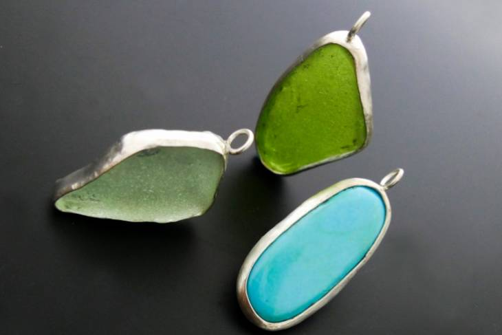Kieu Pham Gray, Non-traditional Settings for Non-traditional Stones, Metalsmithing, Jewelry