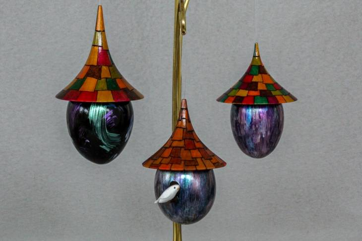 Kurt Hertzog, Dazzling Ornaments, woodworking