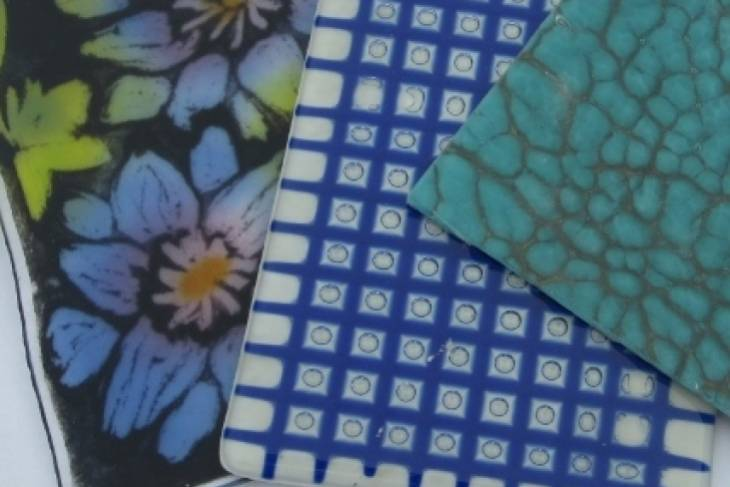 Glass. Paula WIlliams Kochanek. Kiln Glass: Patterns Design and Texture