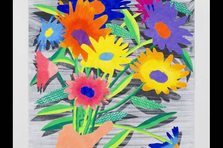 Karen Lederer, Watercolor Monoprint: Experimental Printmaking