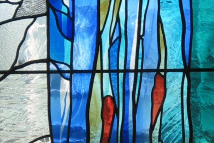 Glass. Michel L'Huillier. Stained Glass