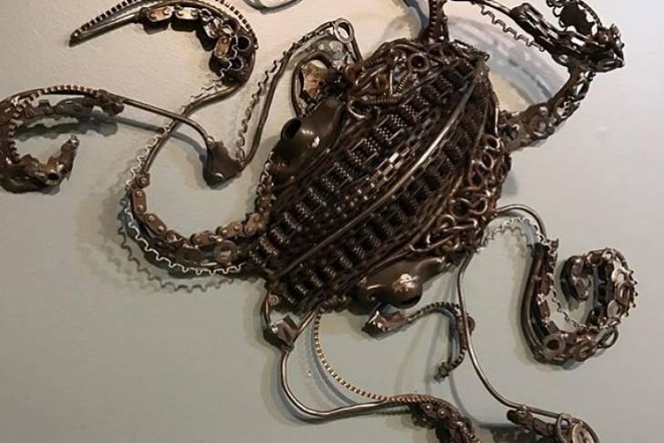 Trisha Moody-Bourbeau, Drawings in Metal, Welding