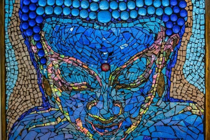 Sam Myers, Glass-on-Glass Mosaic