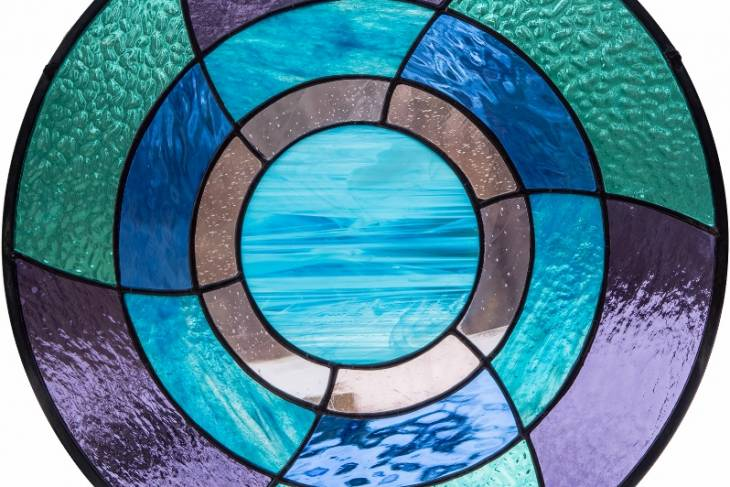 Sam Myers, Glass-on-Glass Mosaics, Introduction to Stained Glass, The Sacred art of writing and painting on glass