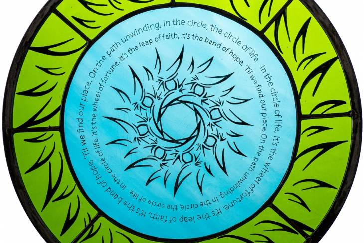 Sam Myers, Sacred Art of Painting and Writing on Glass