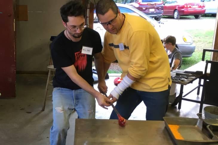 Jesse Rasid, Glassblowing Bootcamp