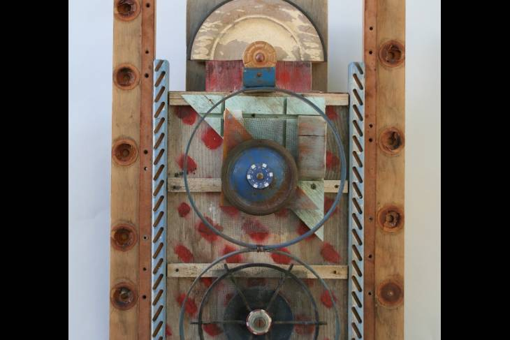 Woodworking. Abby Rieser. Lost & Found: The Art of Assemblage