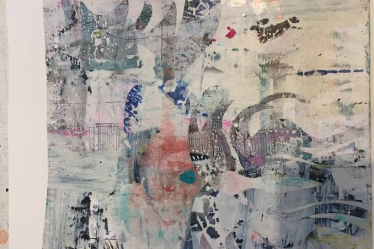 2D & Mixed Media. Alexandra Sheldon. Explorative & Painterly Collage
