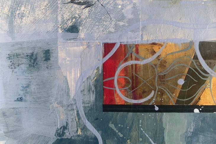 mixed media collage by alexandra sheldon