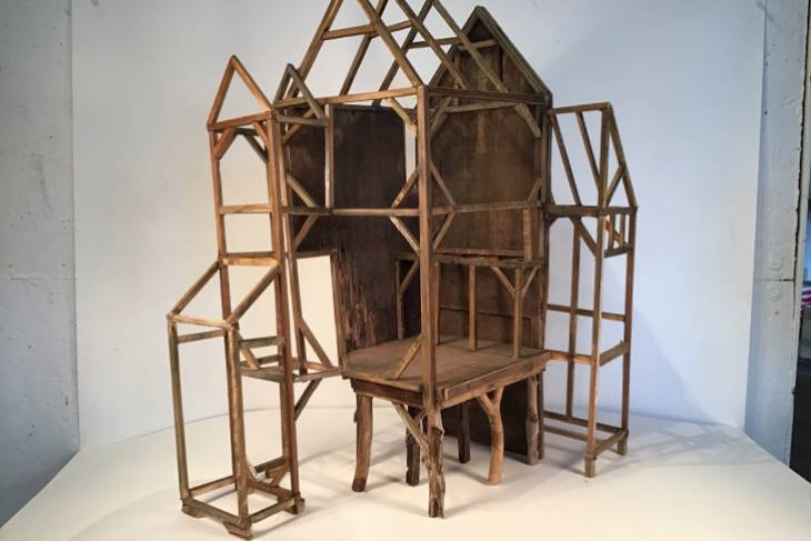 Ross Smart, Spirit Houses, Woodworking