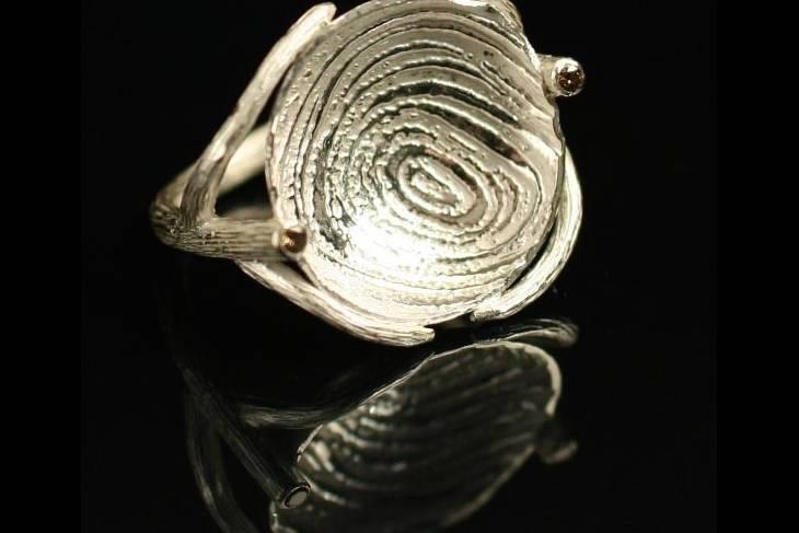 Metalsmithing & Jewelry. Alan Burton Thompson. Metal Skin Surface & Texture, Casting