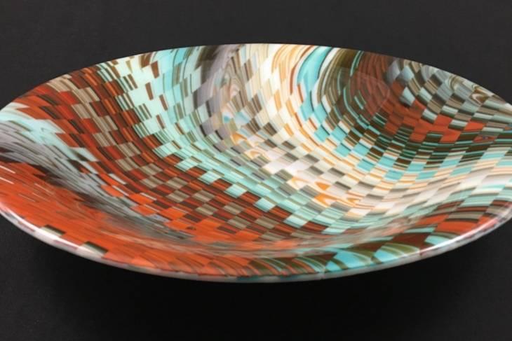 Moe Aderman, Glass Fusing