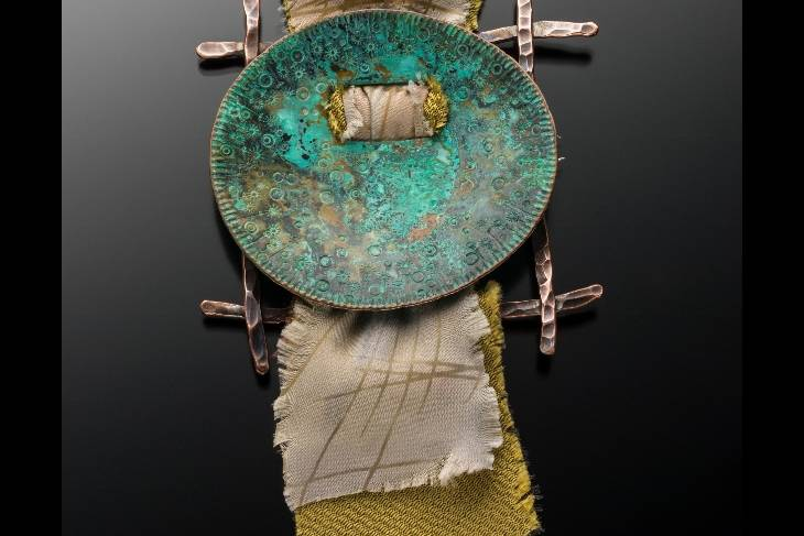 Helen Driggs, Exploring Textures and Patinas in Metal  Jewelry