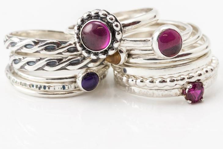 Pam Farren, Rings: Solder, Set and Stack! Metalsmithing, Jewelry