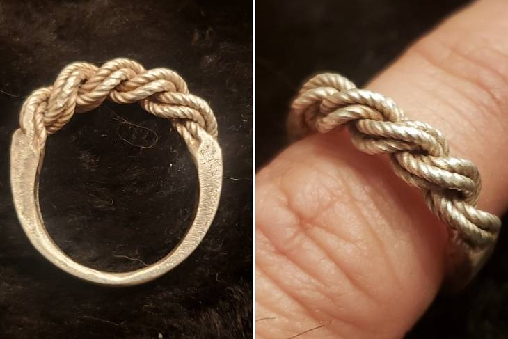 Louis Garcia, Historical Plaiting Techniques, Metalsmithing, Jewelry