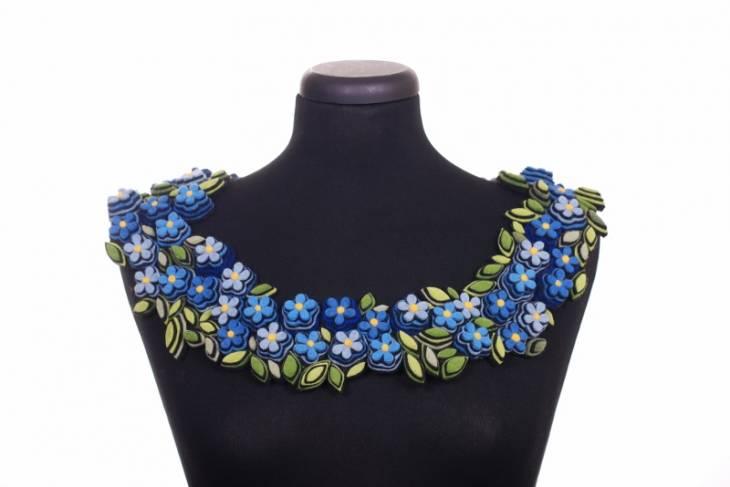 Fiber & Baskets. Danielle Gori-Montanelli. Fanciful Floral Arrangements in Felt