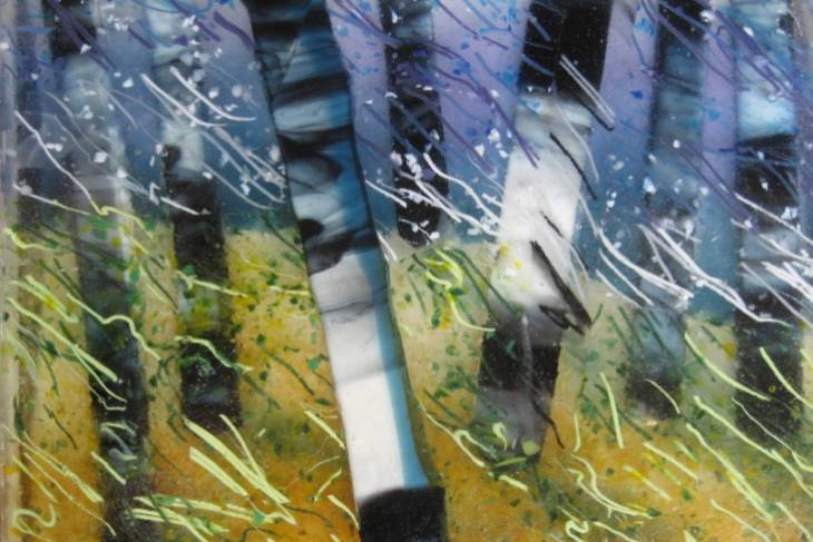 Lynn Haust, Glass Fusing: Landscapes in Sparkling Glass