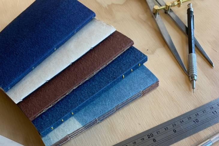 Lisa Hersey, Stitched Bindings and the Journal