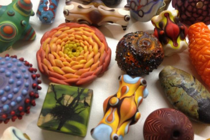 Glass Beads for the 21st Century; Amy Lemaire