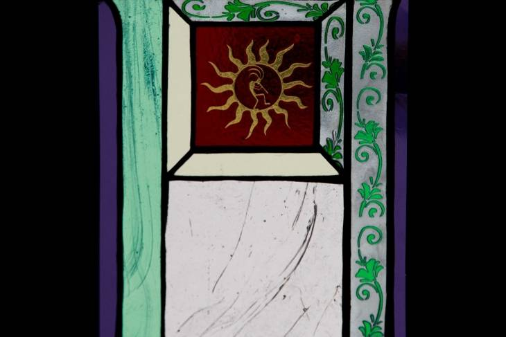 Traditional Stained Glass 101; Dan Maher; Student work