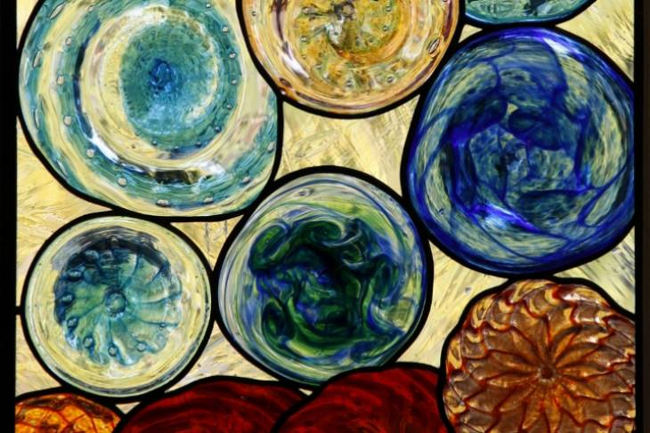Dan Maher, Stained Glass and Glassblowing Collaborative