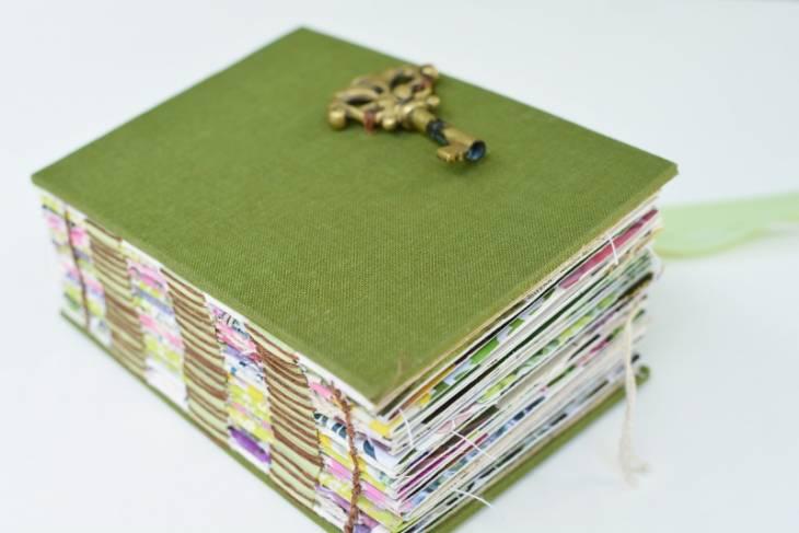 Ali Manning, Handmade Sketchbooks