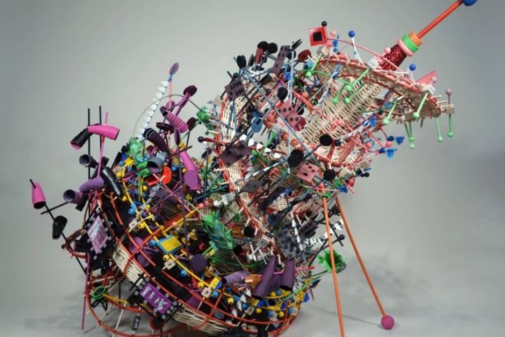 Nathalie Miebach, Sculptural Weaving