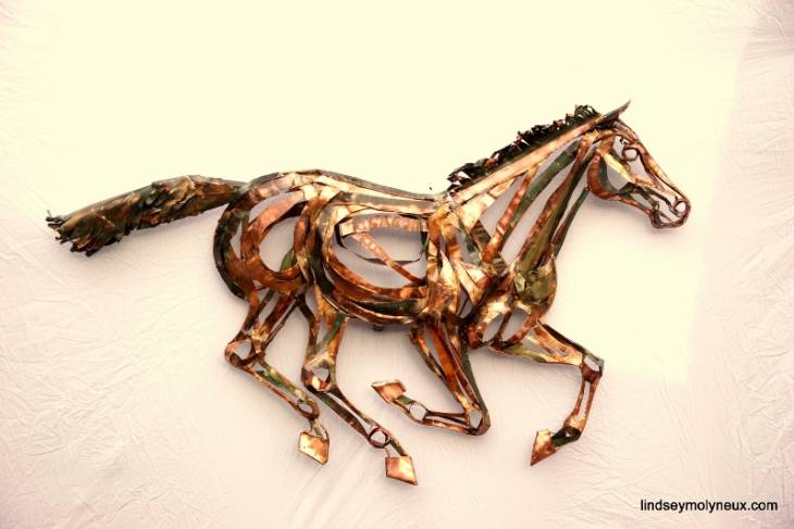 Lindsey Molyneux, Taking Shape with Copper