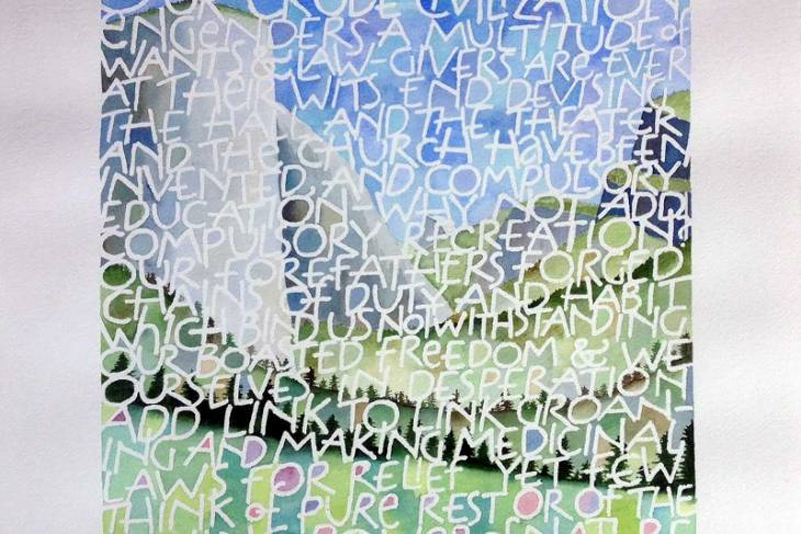 Rick Paulus, Exploring Calligraphy