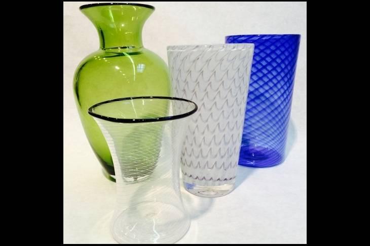 Glass. Jesse Rasid. Glassblowing 101 Pumpkins & Gourds Color Application