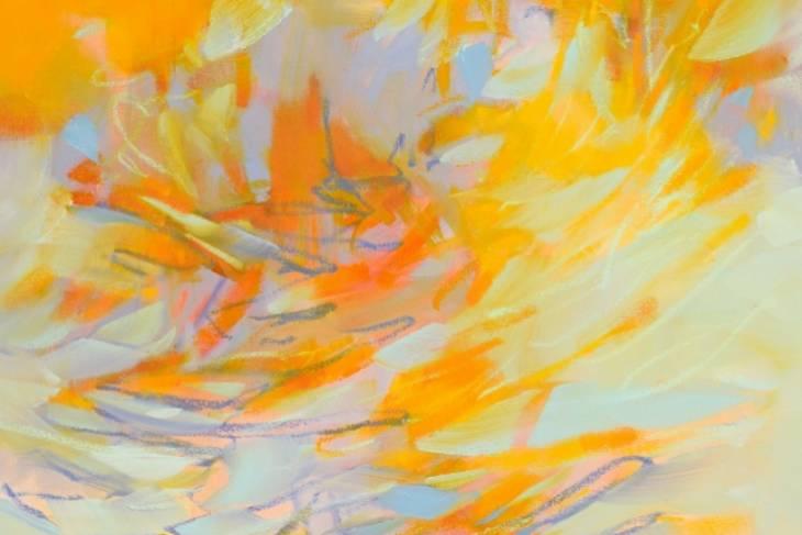 Cameron Schmitz, Creative Mark-Making in Painting, 2D, Mixed Media