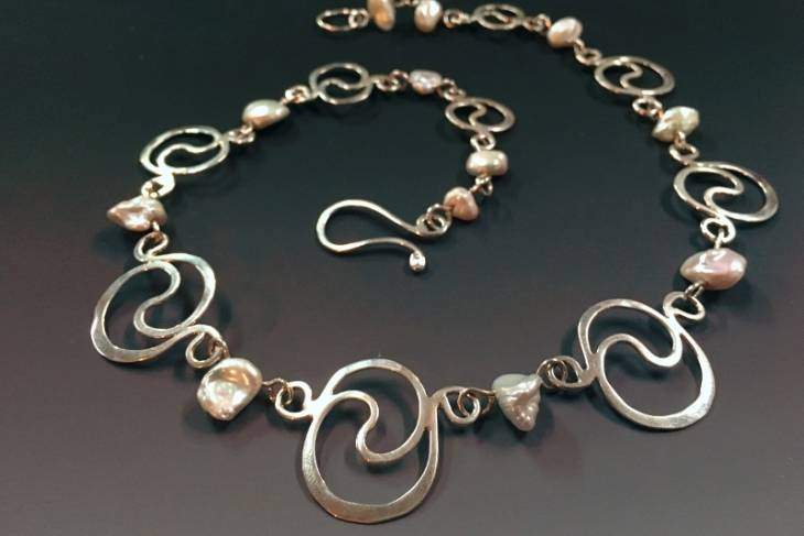 Mary Anne Sherman, Creating and Combining Jewelry Components