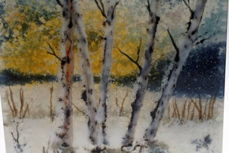 Amanda Taylor, A Sense of Place: Working Thick & Creating Depth with Kiln-Fired Glass