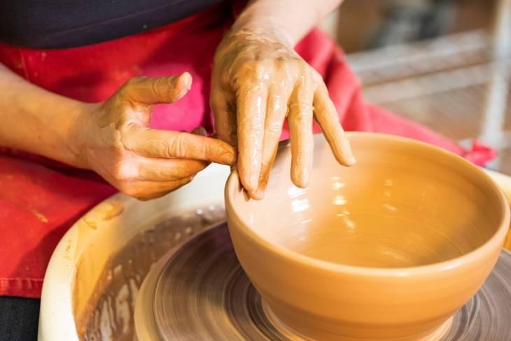Tiffany Hilton, Beginner's Mind at the Pottery Wheel, Ceramics
