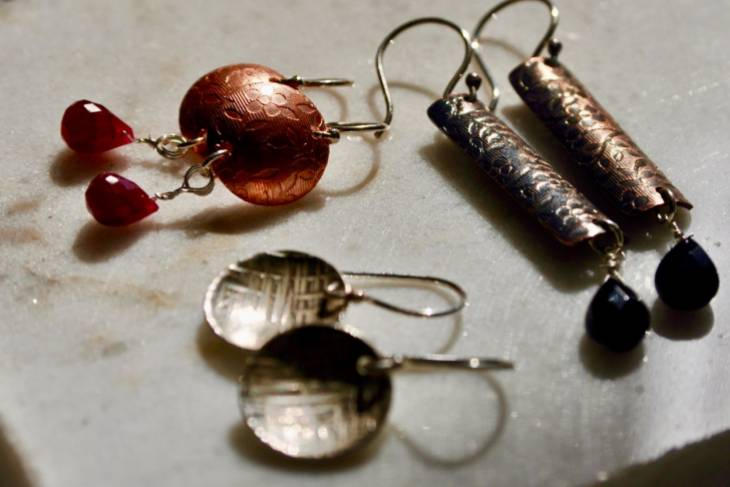 Elizabeth Tokoly, Basic Bling, Metalsmithing, Jewelry