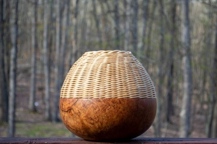 Janine Wang, Weaving into Woodturning, Woodworking