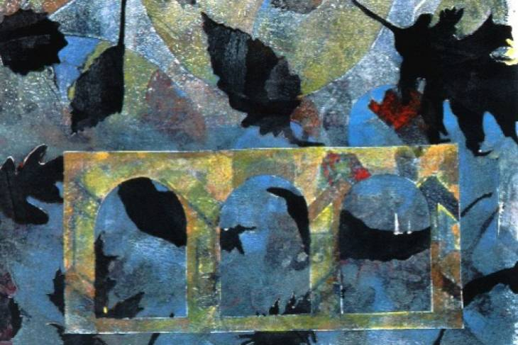 Susan Webster, Monotype Printmaking, 2D, Mixed Media