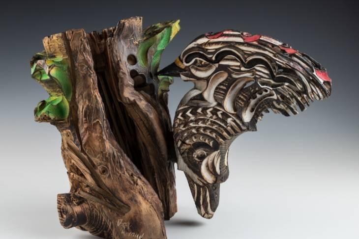 Derek Weidman, Sculpting with a Wood Lathe