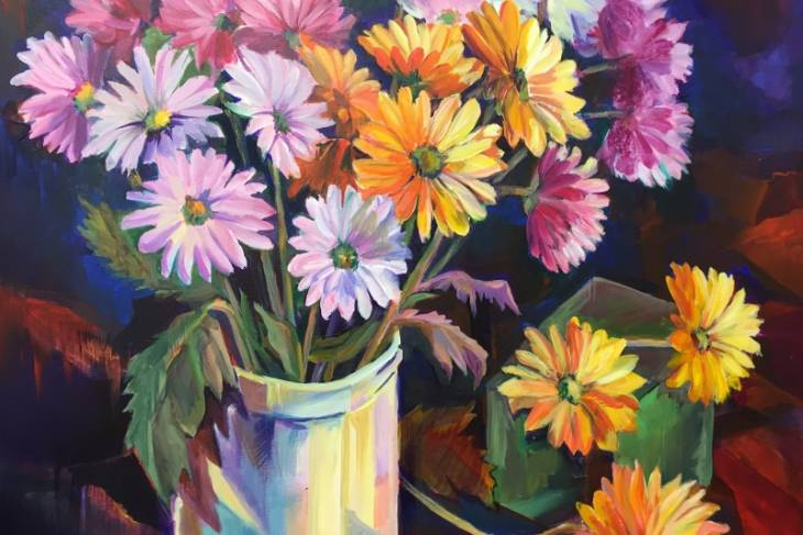 Marcia Wise, Bold and Beautiful: Intro to Impressionist Full Color Painting
