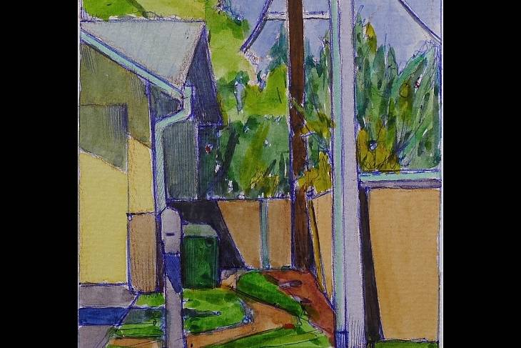 2D & Mixed Media. Amy Wynne. Plein Air Painting, Color Theory, Watercolor & Gouache